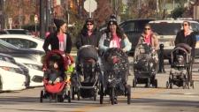 Residents Participate in the inaugural Bridget's Run on Saturday, October 20, 2018 (Steve Mansbridge/CTV News)