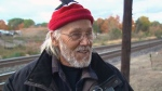Joe Krupa speaks to CTV Toronto after CP Rail razed his Mississauga, Ont. garden. (CTV Toronto)