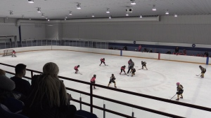Fifty-one teams participated in the sixth-annual Get Your Pink On hockey tournament on Saturday October, 20, 2018 (Dave Sullivan/CTV News)