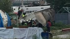 Taiwan derailment