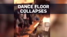 Caught on cam: Packed dance floor collapses