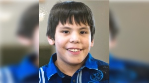 Saskatoon police are searching for 10-year-old Braydin Moccasin, who was last seen on Oct. 19, 2018.