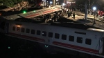 Over 100 injured after train crash