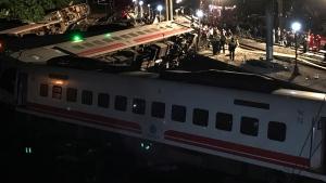 Over 100 injured after train crash