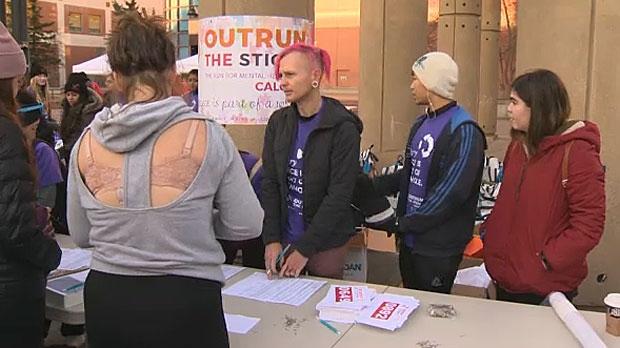 Hundreds Participate In Calgary Marathon For Mental Health Awareness