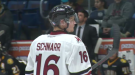 Nate Schnarr of the Guelph Storm
