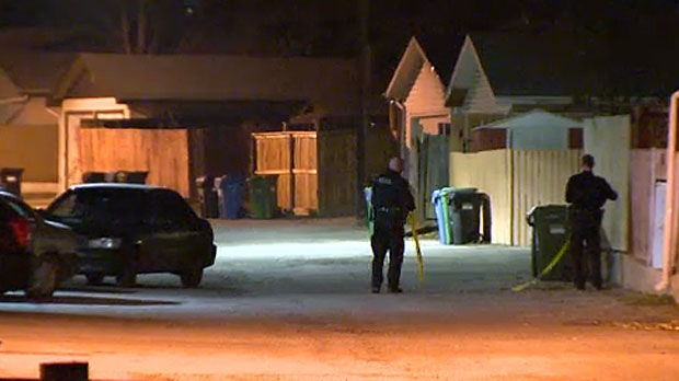 Calgary police are looking for suspects after a man was shot after he confronted an unknown individual in his garage early Sunday morning.