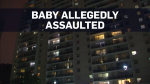 Three-month-old dies after alleged assault