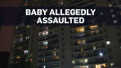 Three-week-old dies after alleged assault