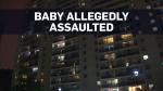 Three-week-old dies after alleged assault