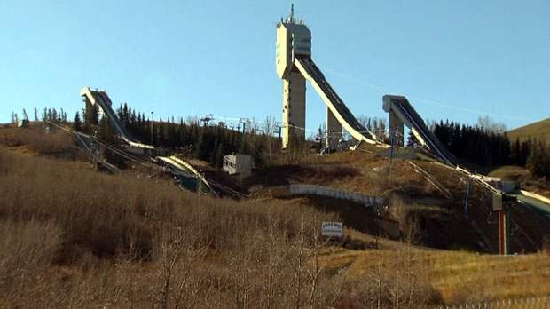 Calgary Olympics, Winsport, ski jump
