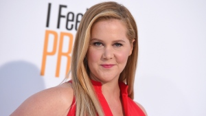 """In this April 17, 2018 file photo, Amy Schumer arrives at the world premiere of """"I Feel Pretty"""" at the Westwood Village Theater in Los Angeles. (Photo by Jordan Strauss/Invision/AP, File)"""