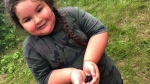 Hunter Sasakamoose, six, of Ahtahkakoop Cree Nation in Saskatchewan is seen in this undated handout photo. Hunter is taking part in land-based learning which combines lessons from his ancestors on the Ahtahkakoop Cree Nation in Saskatchewan as well as the curriculum of his peers in Regina. THE CANADIAN PRESS/JoLee Sasakamoose)