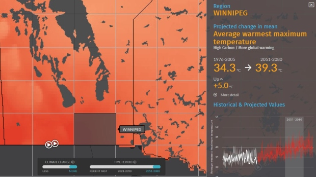 Online Maps Show Impact Of Climate Change On Canada S Boreal Forests