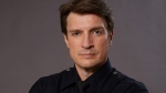 """Actor Nathan Fillion is shown in a promotional photo for the televion show """"The Rookie."""" THE CANADIAN PRESS/HO-Bell media"""