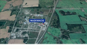 Maskwacis map