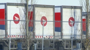 In Edmonton, operations at the processing facility were halted after workers walked off the job.