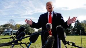 Trump talks Saudi Arabia, nuclear arms treaty