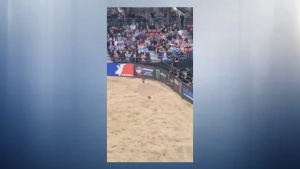This 31-year-old man is facing charges after he streaked at the Professional Bull Riders event at Edmonton Expo Centre.