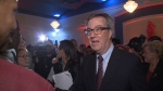 Jim Watson at his victory party.