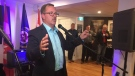 Mayor-elect Darrin Canniff credits his team, family and community for his win in Chatham-Kent, Ont., on Monday, Oct. 22, 2018. (Chris Campbell / CTV Windsor)