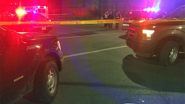 Police investigate a fatal pedestrian collision at MacLeod Trail and 6 Avenue