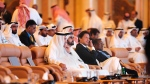 Pakistani Prime Minister Imran Khan, ,centre right sits next to United Arab Emirates Prime Minister Sheikh Mohammad bin Rashed, as they attend the opening of the Future Investment Initiative conference, in Riyadh, Saudi Arabia, Tuesday, Oct. 23, 2018. Saudi Arabia is moving ahead with plans to hold the glitzy investment forum, despite some of its most important speakers pulling out in the global outcry over the killing of Saudi journalist Jamal Khashoggi. (AP Photo/Amr Nabil)