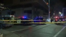 A man in his 70s was killed when he was hit by a vehicle on a downtown street on Monday, October 22, 2018.