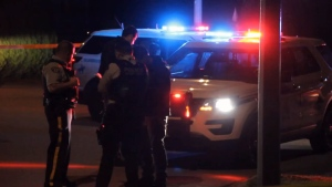 Surrey RCMP respond to a stabbing that put a 16-year-old boy in hospital on Monday, Oct. 23, 2018.