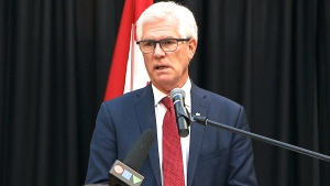 Minister Jim Carr makes announcement