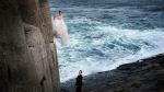 Mandy and Stephen O'Keefe took wedding photos on a rock face at Flatrock in Newfoundland. (Greg Locke Photo)