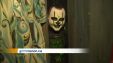 Grim Manor Serves up Scares