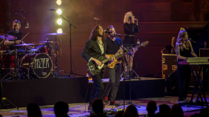 """Earnest and soulful Irish singer-songwriter Hozier plays to a sold out Orpheum Theatre in Vancouver, B.C. on Oct. 22, 2018. He included new tracks from his upcoming album and threw in a unique cover of Destiny's Child's """"Say My Name."""" (Photographer: Anil Sharma)"""