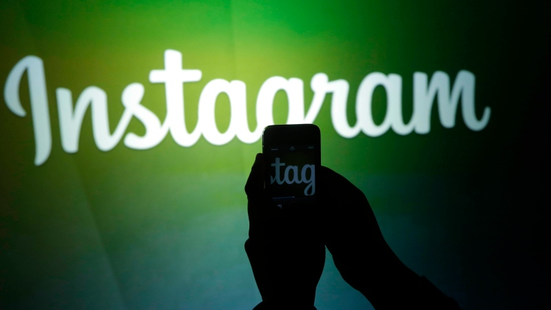 Instagram logo is seen in this undated file photo. (File/The Canadian Press)