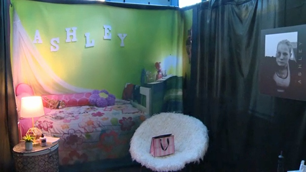 Visitors to The Lisa Project will hear the story of 'Ashley', a child abuse victim