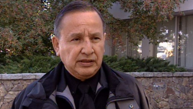 Union of B.C. Indian Chiefs Grand Chief Stewart Phillip, seen in a file photo from 2010. (CTV)