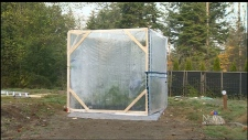 Greenhouse cube