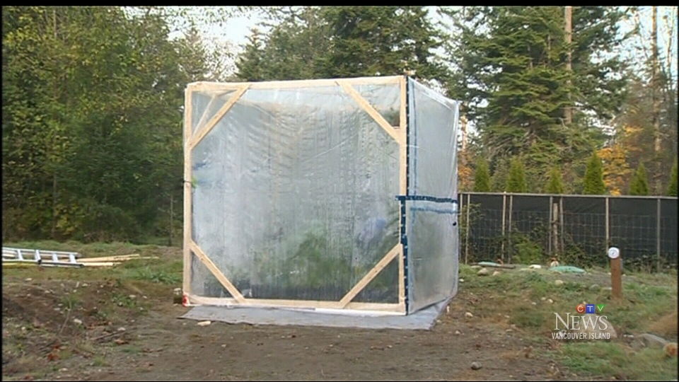 At midnight Wednesday, the Comox Valley's whimsical scientist will lock himself in a 10x10 biodome —a closed ecological system— and is inviting viewers to follow him live on Twitter and his YouTube channel.