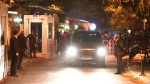A diplomatic car arrives to the residence of the Saudi consul in Istanbul, Turkey, 16 October 2018. EPA/SEDAT SUNA
