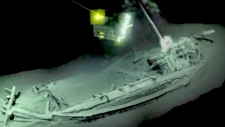 Shipwreck discovered in Black Sea