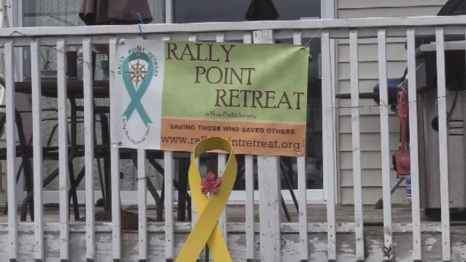 Rally Point Retreat on Nova Scotia's South Shore is a safe place for first responders with PTSD.