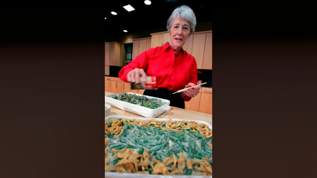 Woman who created green bean casserole dies at 92