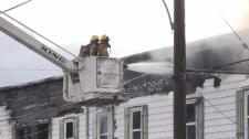 Firefighters douse flames at Good Samaritan Inn