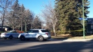 A man has died after a shooting in south Regina on Oct. 23, 2018. (JACKIE PEREZ/CTV REGINA)