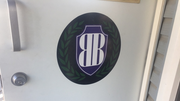 The front door of Best Buds Society, a dispensary on Avenue D South. (CTV Saskatoon)
