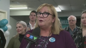 Defeated Sudbury mayoral candidate Patricia Mills