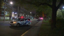 SPVM are looking for a suspect after two men were shot in Cote St. Luc Sept. 21.