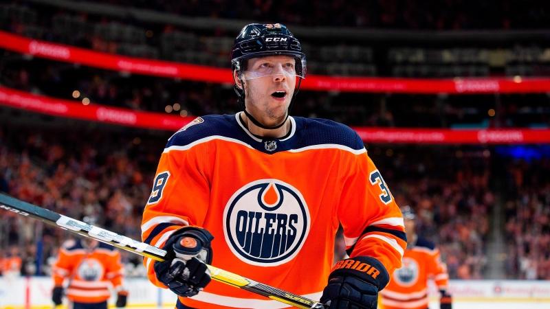 Edmonton Oilers forward Alex Chiasson.