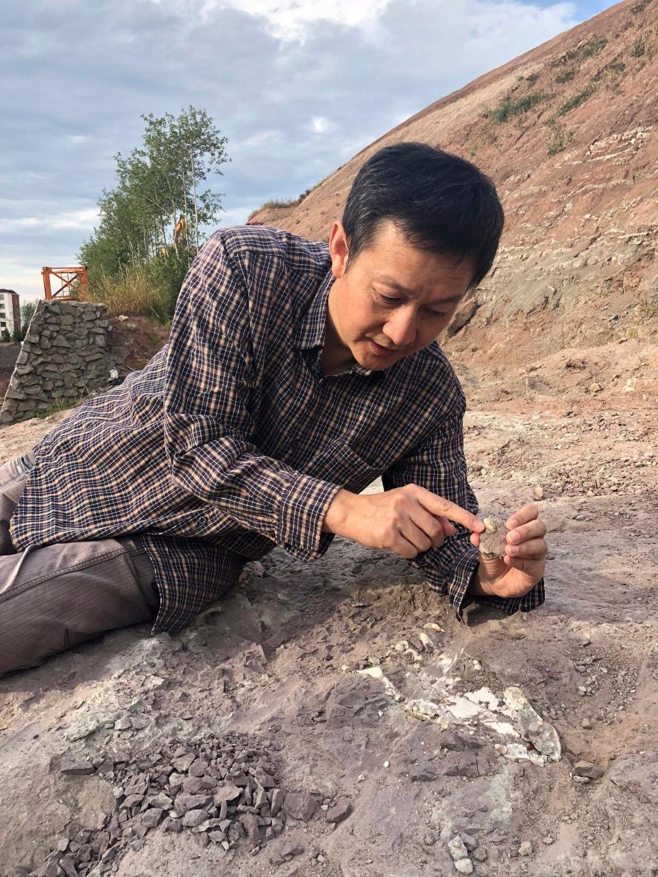 Paleontologist dating