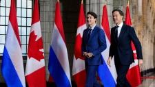 Justin Trudeau, Mark Rutte
